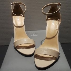 Apt.9 Cream Womens Heels